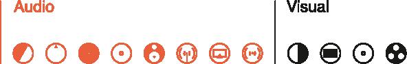genesis audio icons