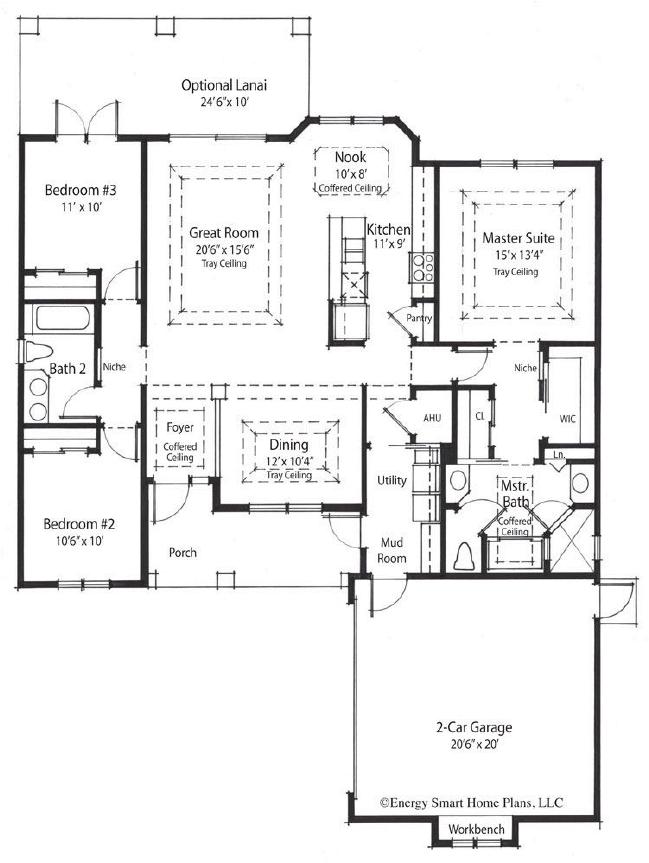 genesis floorplan