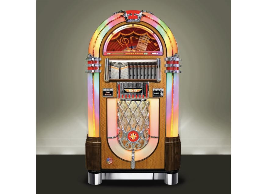 Genesis Games Room - Rock-Ola Jukeboxes